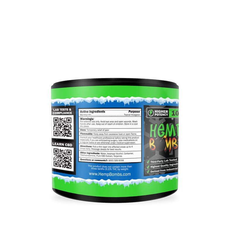 CBD Pain Freeze 100mg left