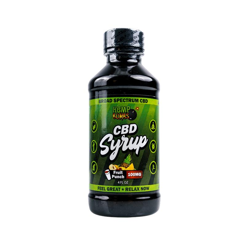 Hemp Bombs CBD Syrup!