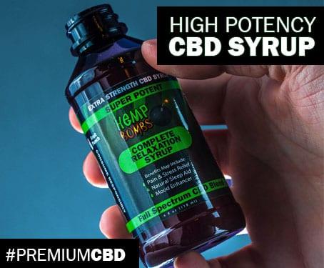 CBD Syrup CBD Lean Syrup