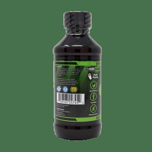 1000mg cbd syrup -back left label