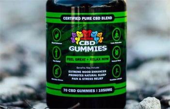 Higher Potency CBD Gummies Hemp Bombs