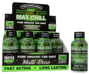 cbd max chill shot sleeve