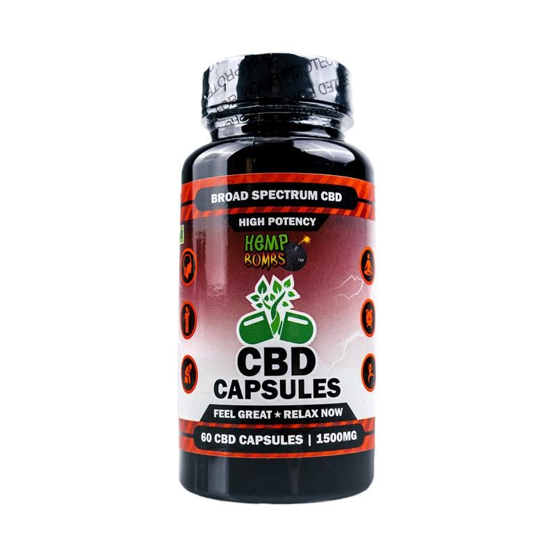 CBD Capsules High Potency 60-Count