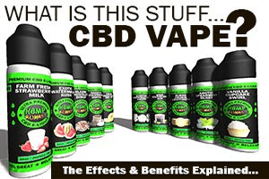 What is this stuff... CBD Vape?