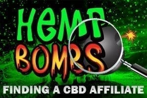 Hemp Bombs finding an Affiliate