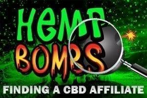 Hemp Bombs finding an Affiliate