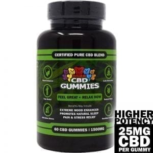 high potency cbd gummies 60-count