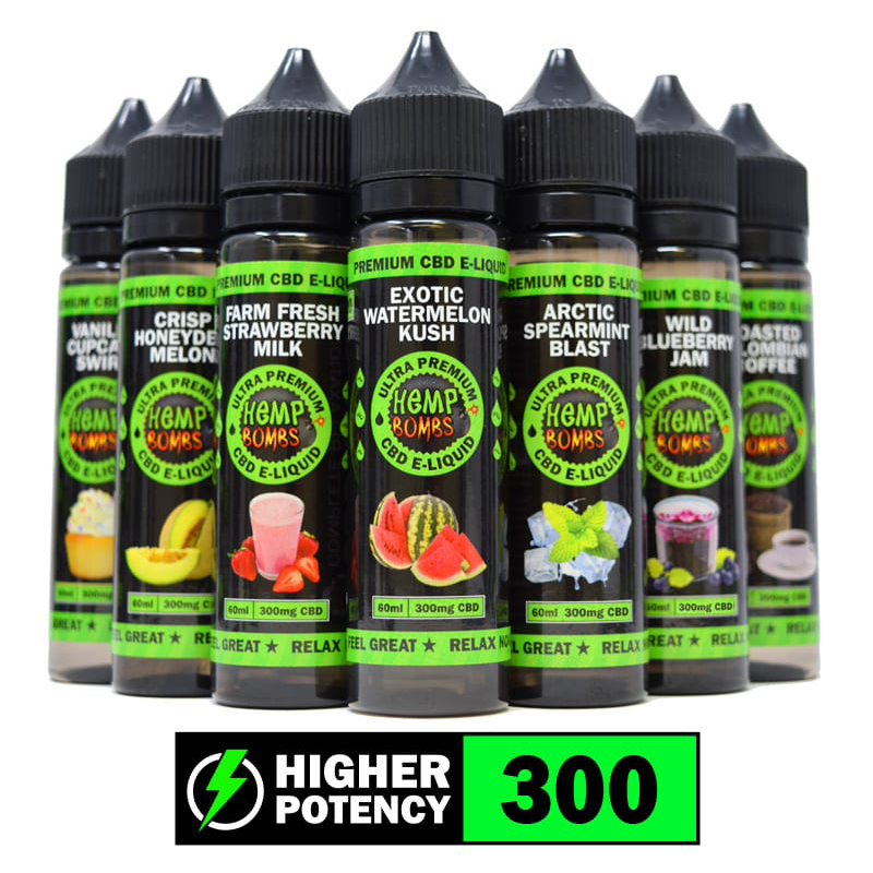 300mg 60ml E-LIQUID