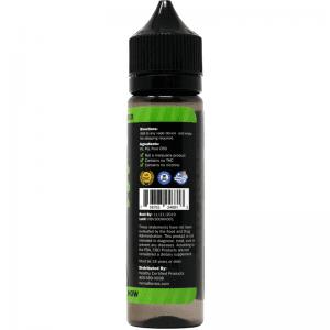 300mg cbd e-liquid -back of label