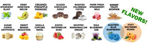 CBD E-Liquid Flavors