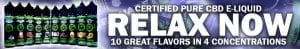 Certified Pure CBD E-Liquids