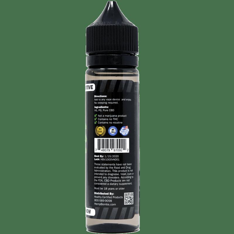 1000mg CBD E-Liquid Additive | 1000mg CBD Vape Additive