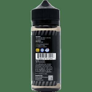 4000mg CBD E-Liquid Additive - back view