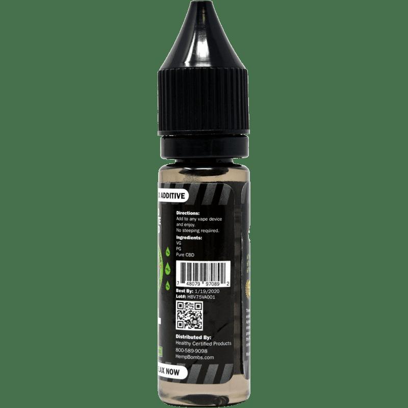 Best Eliquid 2020 75mg CBD E Liquid Additive | 75mg CBD Vape Additive | Hemp Bombs