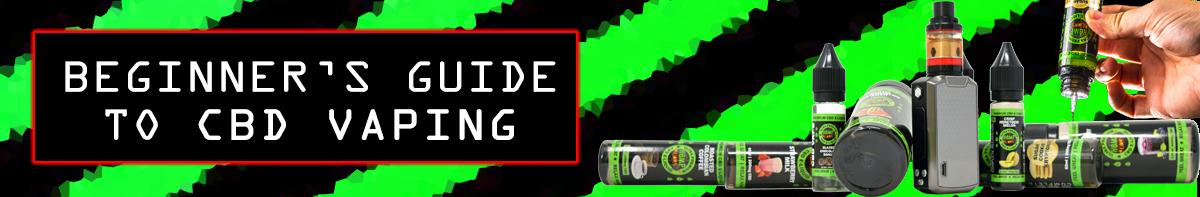 Beginner's Guide to CBD Vaping