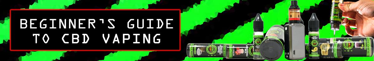 Beginner's Guide to CBD Vaping banner