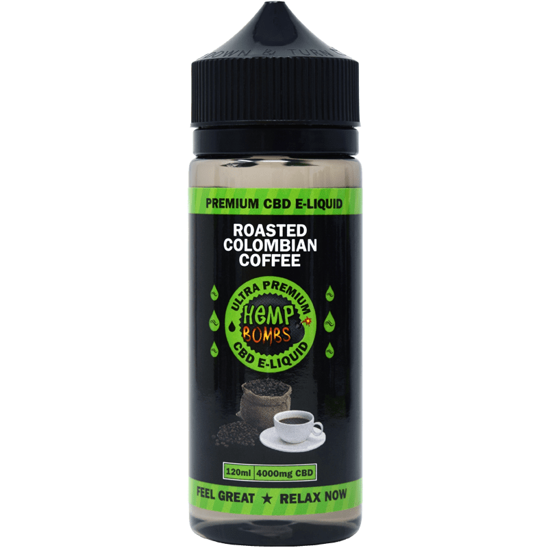 4000mg CBD E-Liquid Colombian Coffee