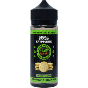 4000mg CBD E-Liquid Sugar Cookie Kryptonite