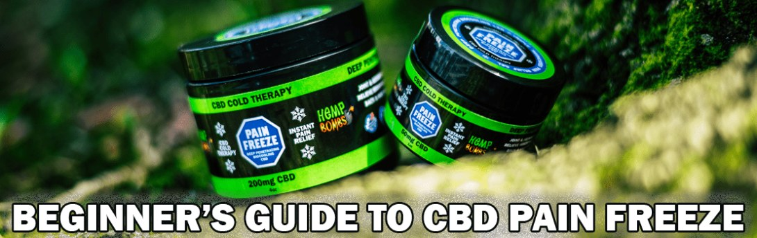 Beginner's Guide to CBD Pain Freeze