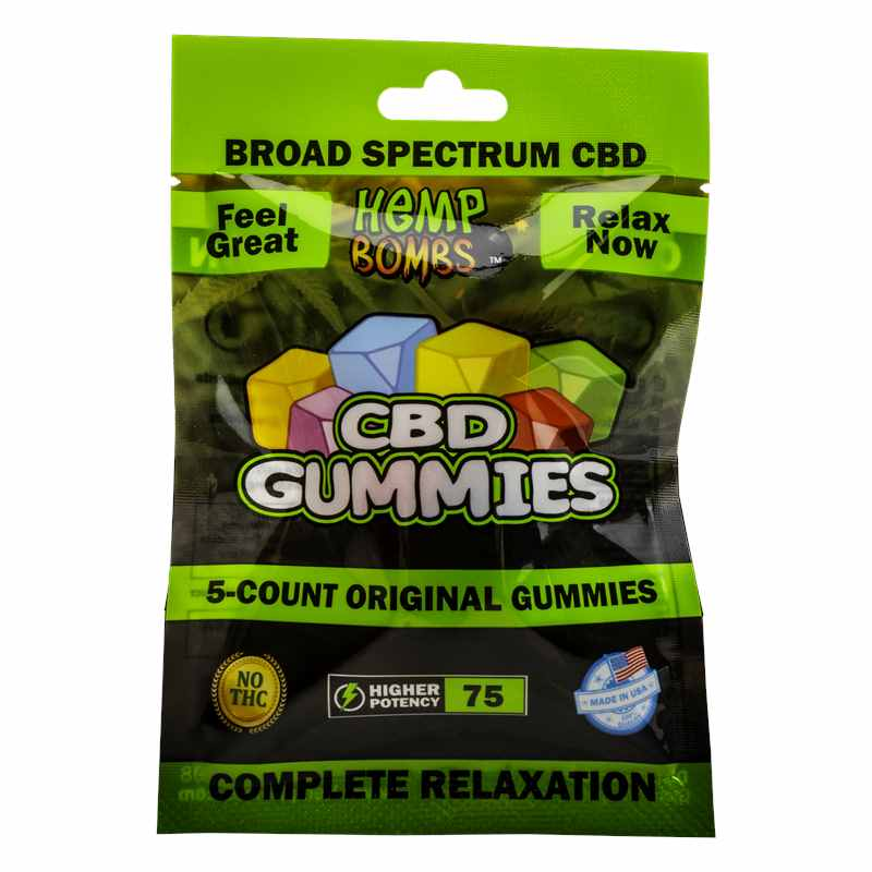 5-Count CBD Gummies