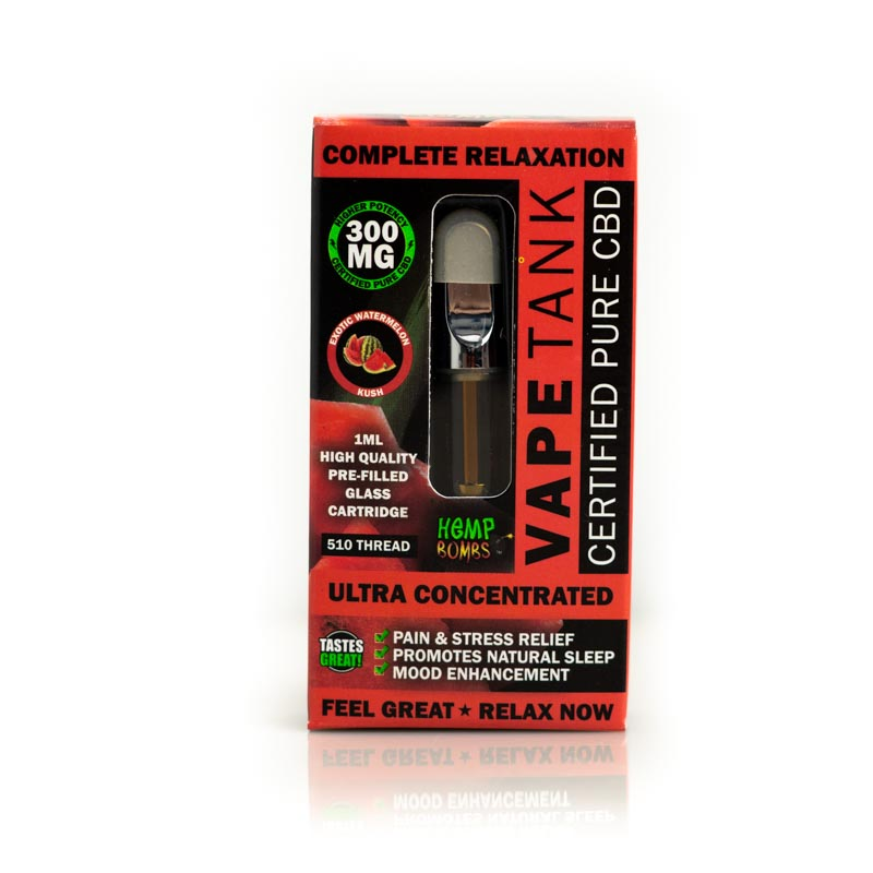CBD Vape Tank 300mg Watermelon