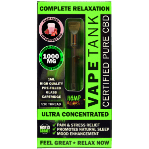 CBD Vape Tank 1000mg farm fresh strawberry milk