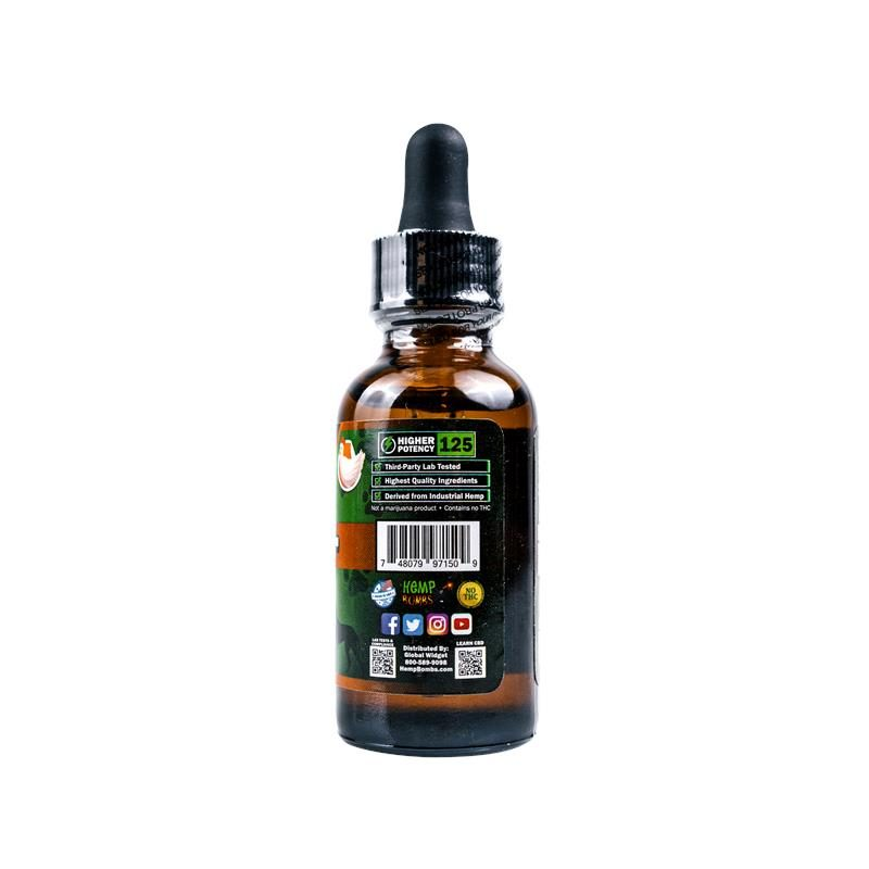 CBD Pet Oil 125mg right