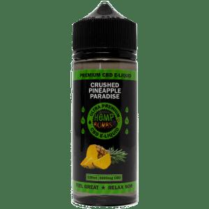 4000mg cbd e liquid flavor pineapple