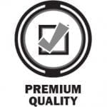 box check-marked, premium quality icon