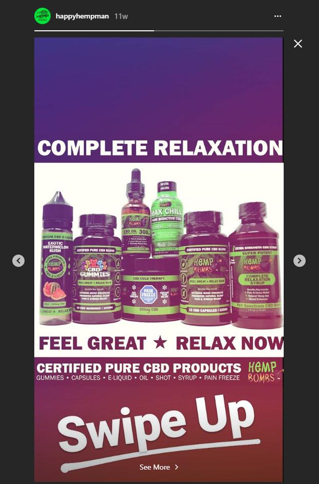 Instagram Affiliate Marketing CBD