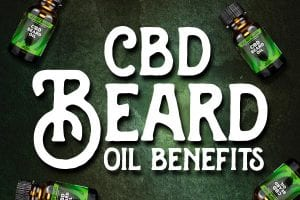 cbd beard oil floating beard oil bottles