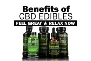 Hemp Bombs edible products, including CBD Gummies, CBD Relaxation Syrup and CBD Oil