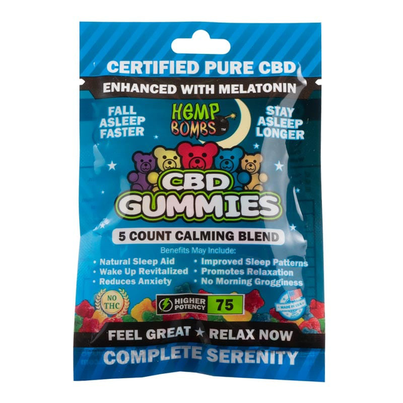 5-count sleep gummies