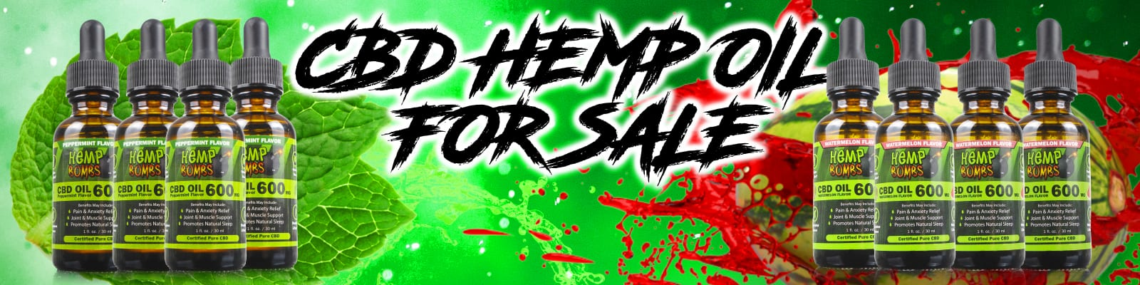 CBD Hemp Oil for Sale