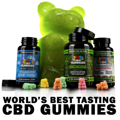 CBD Gummy Bears | Original, Sleep & High Potency Hemp Gummies