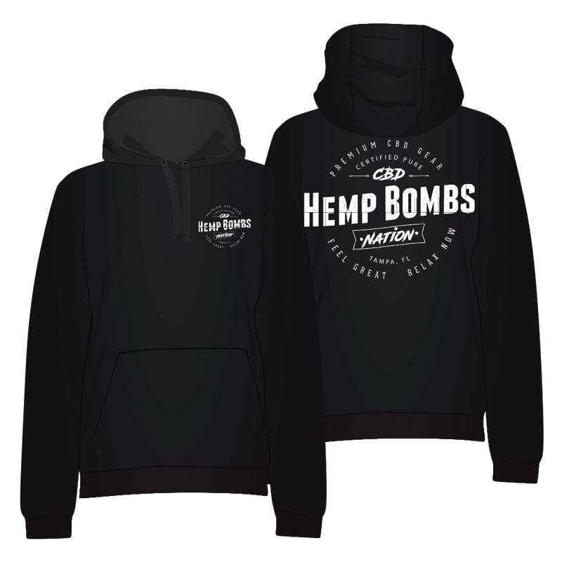 Hemp Bombs Nation Hoodie
