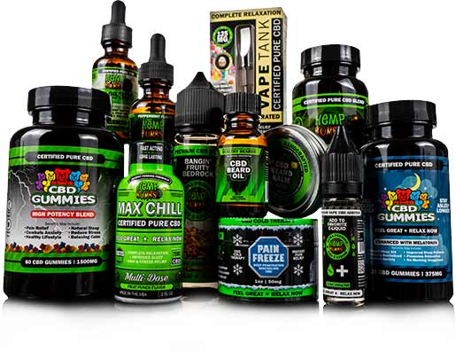Hemp Bombs CBD Products