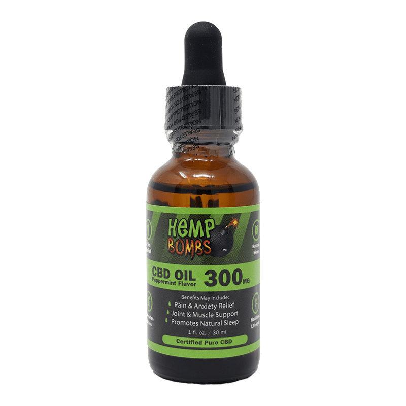 300mg cbd oil front