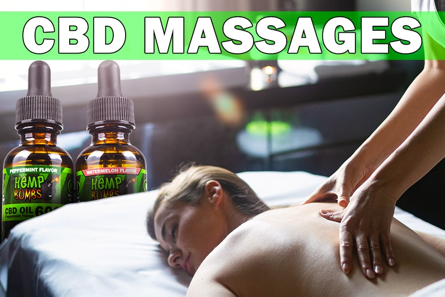 What are CBD Massages