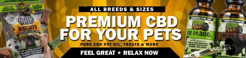 CBD Pet Products - Hemp Bombs
