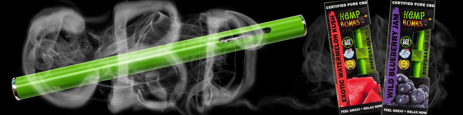 Hemp Bombs Premium CBD Vape Pen