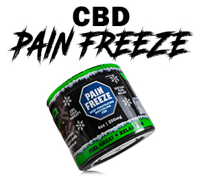 CBD Topicals Pain Relief Rub