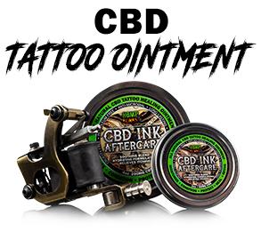CBD Topicals Tattoo Cream