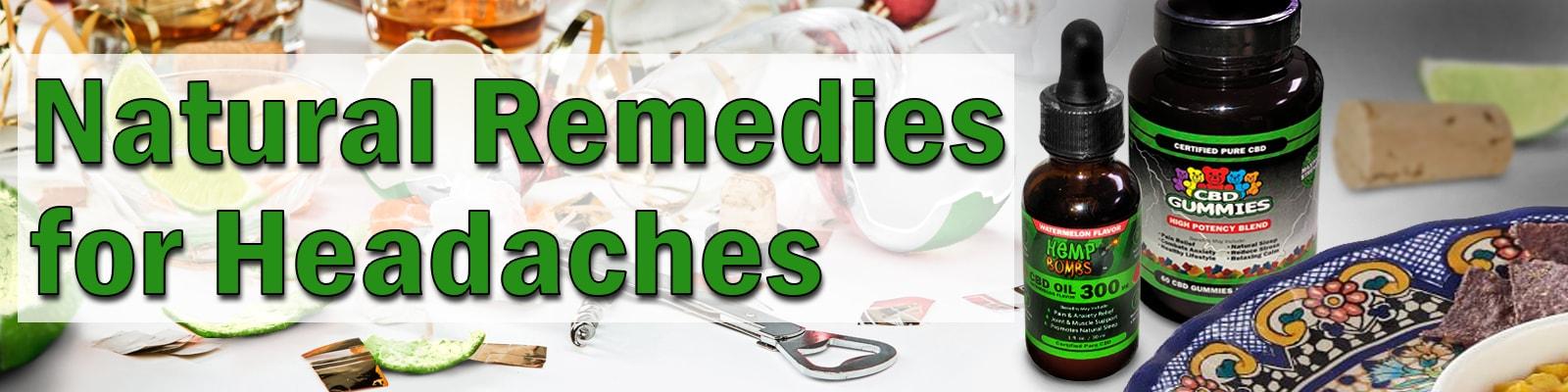 Natural Remedies for Headaches Using CBD