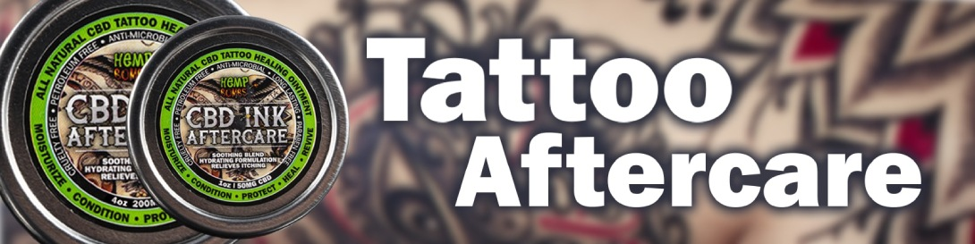 CBD Tattoo Aftercare Ointment