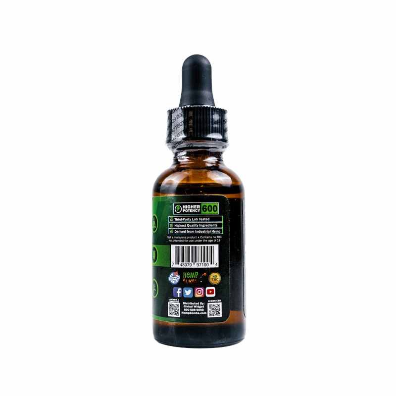 600mg CBD Oil Peppermint New Right
