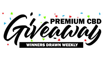 Premium CBD Giveaway - Winner Drawn Weekly