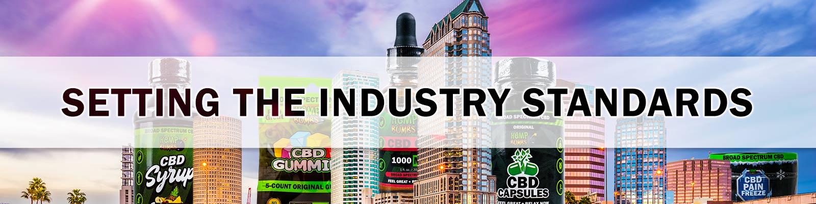 Hemp Bombs setting industry standards