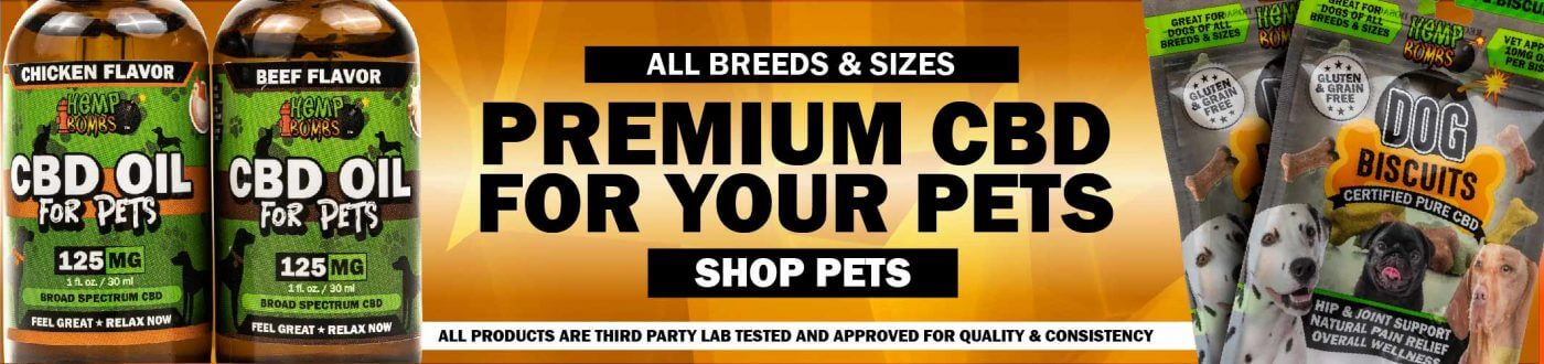 CBD for Dogs & Pets