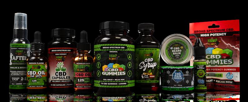 CBD Products from Hemp Bombs